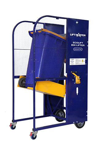 The Ecolift bin lifter