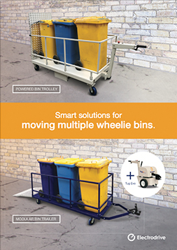 Waste bin mover flyer