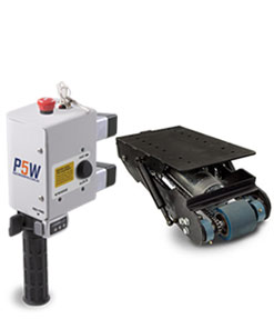 Electrodrive's Powered Fifth Wheel kit for powering manual trolleys