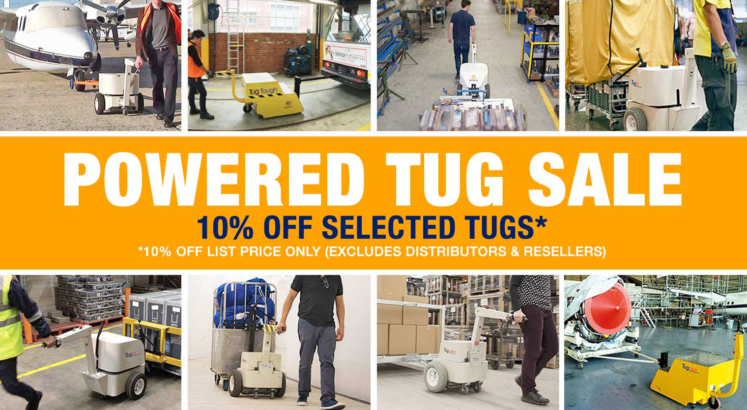 November Powered Tug Sale